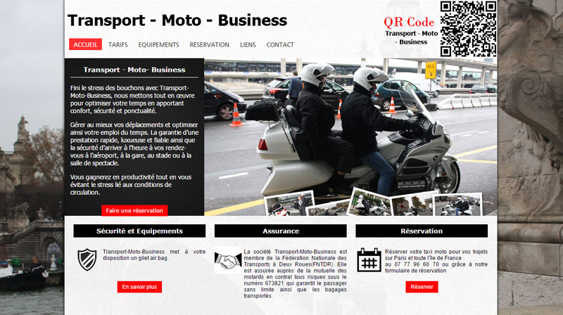 Transport moto business